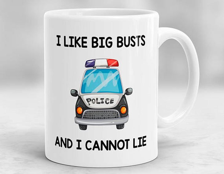 This Funny Cop Coffee Mug - gifts for police officers