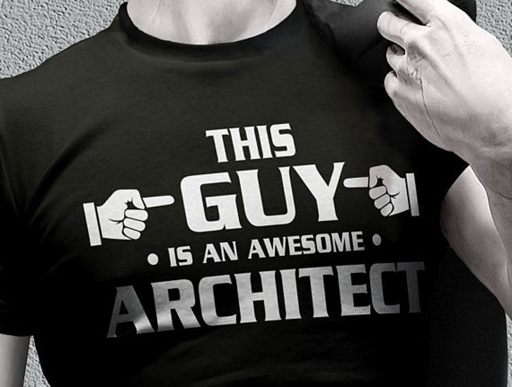 This Guy Is An Awesome Architect T-Shirt