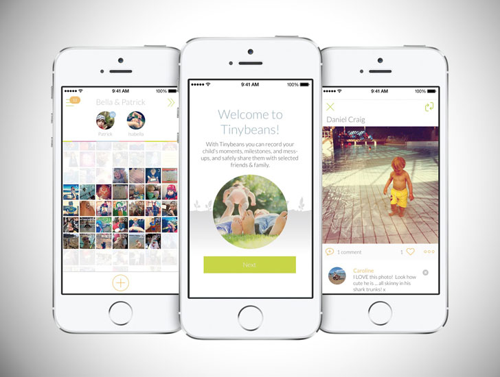 Tinybeans App - baby app