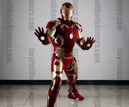 Wearable Full Body Armor Iron Man Suit