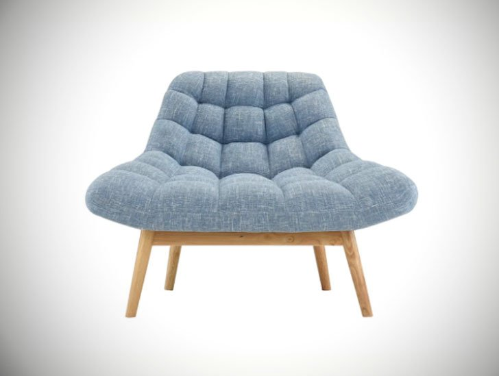 Wilcoxen Modern Plush Bedroom Chair