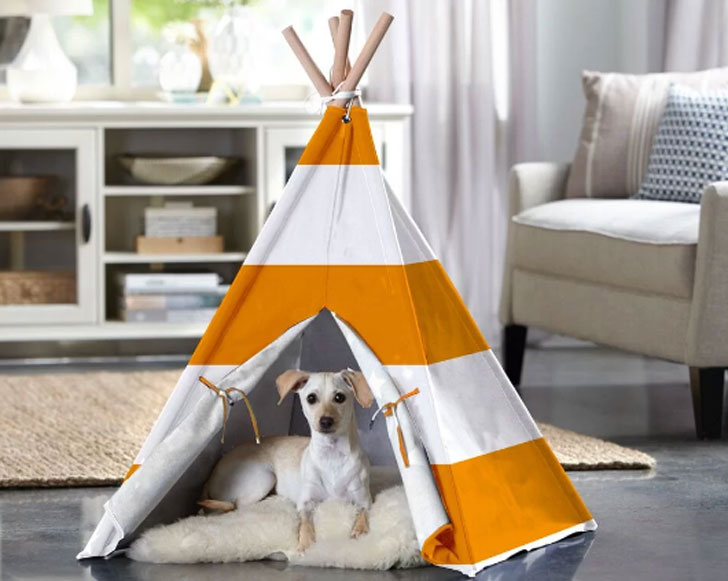 Teepee Dog Bed