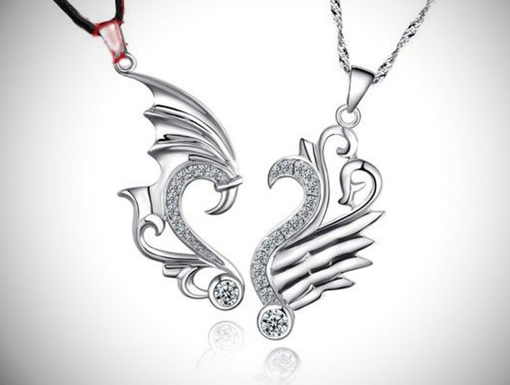2-Piece Dragon Pendants
