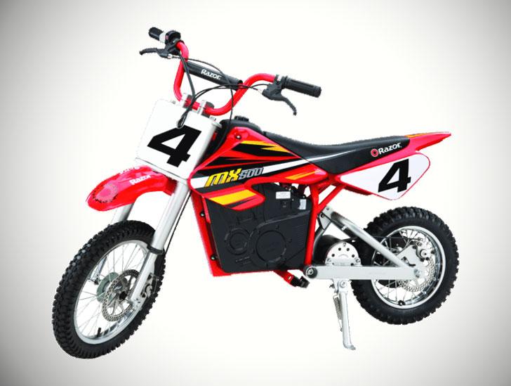 Adults Razor Dirt Rocket MX500 Electric Dirt Bike