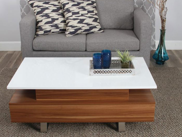Agata Lift-Top Coffee Table - lift-top coffee tables