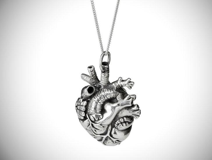 Anatomical Heart Pendant