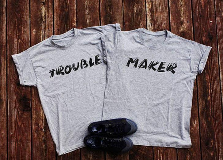 Besties Trouble Maker t-shirts