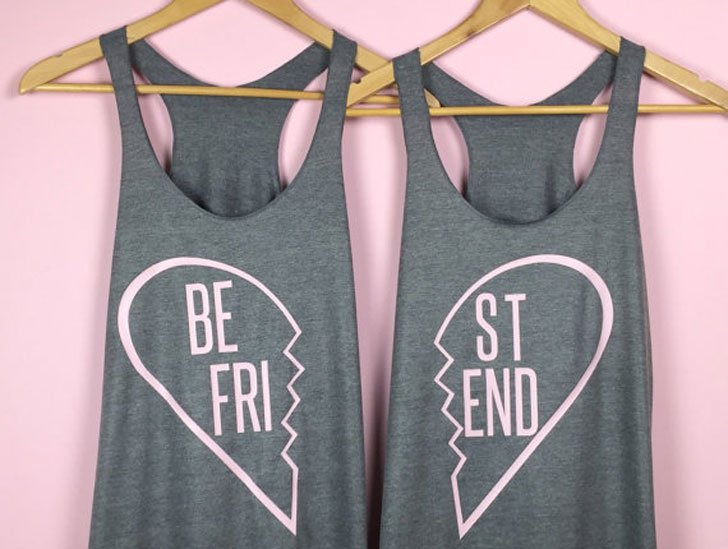 Broken Heart BFF Tank Tops