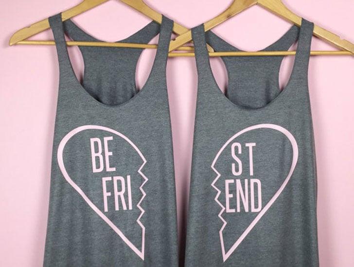 Broken Heart BFF Tank Tops