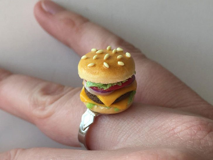 Cheese Burger Ring