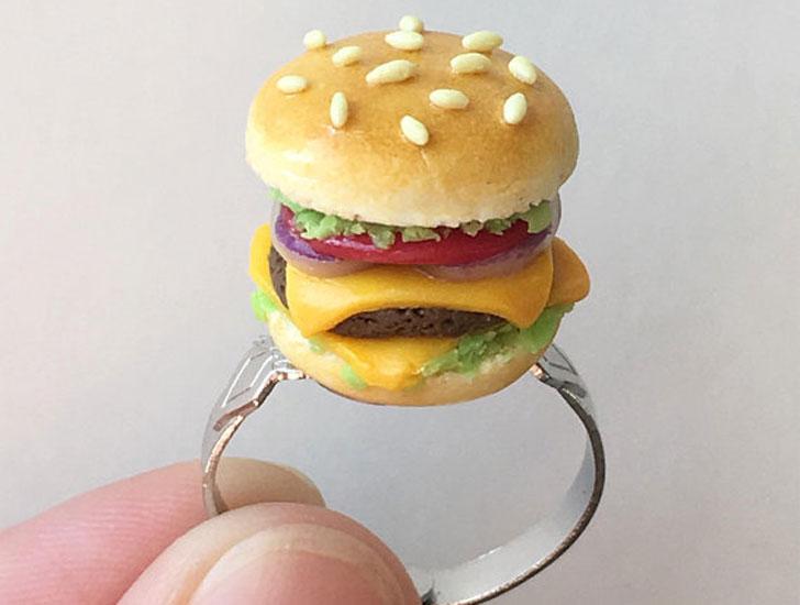 Cheese Burger Ring