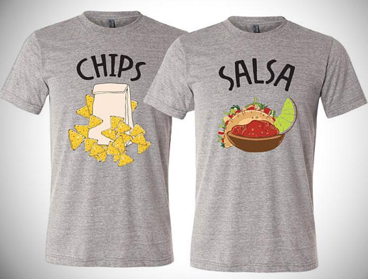 Chips & Salsa Best Friendship T-Shirts