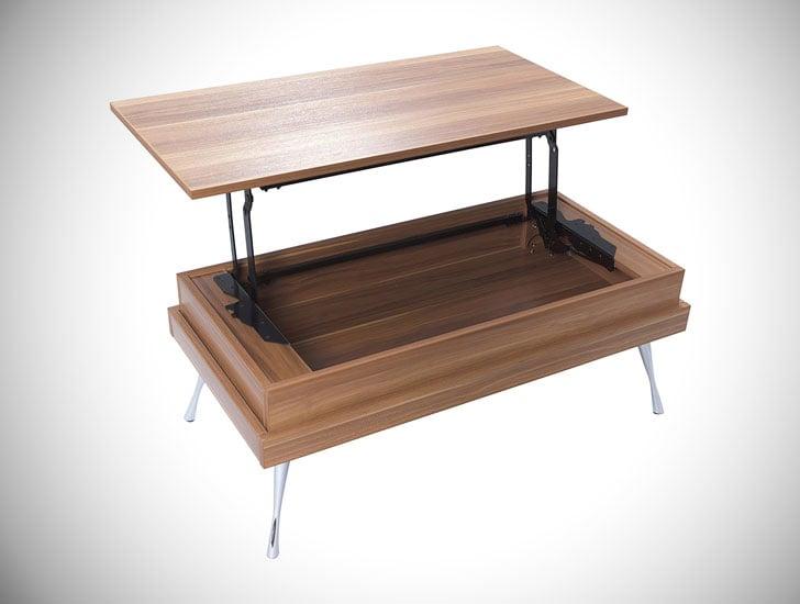 Cornelia Lift Top Coffee Table - lift-top coffee tables