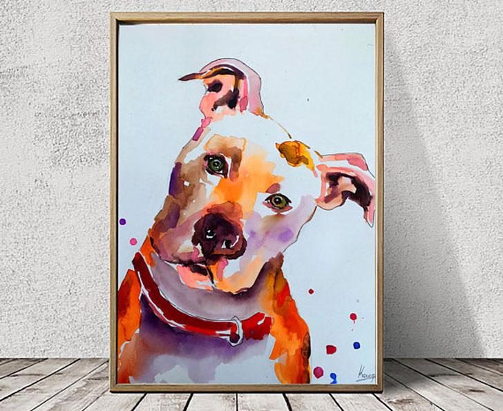 Custom Dog Portraits