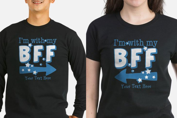 "Custom ""Im With My BFF"" Shirts"