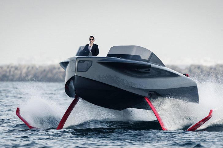 Foiler The Flying Yacht