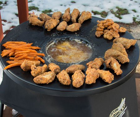 Fryin' Saucer Outdoor Cooker