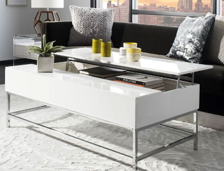 Gutowski Lift Top Coffee Table with Storage