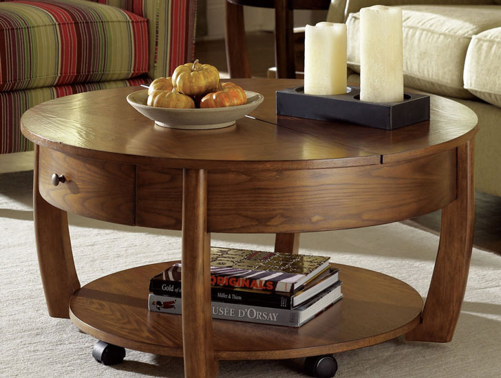 Hatfield Lift Top Coffee Table - lift-top coffee tables
