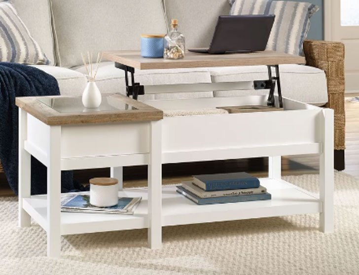 Highland Dunes Lift-Top Coffee table