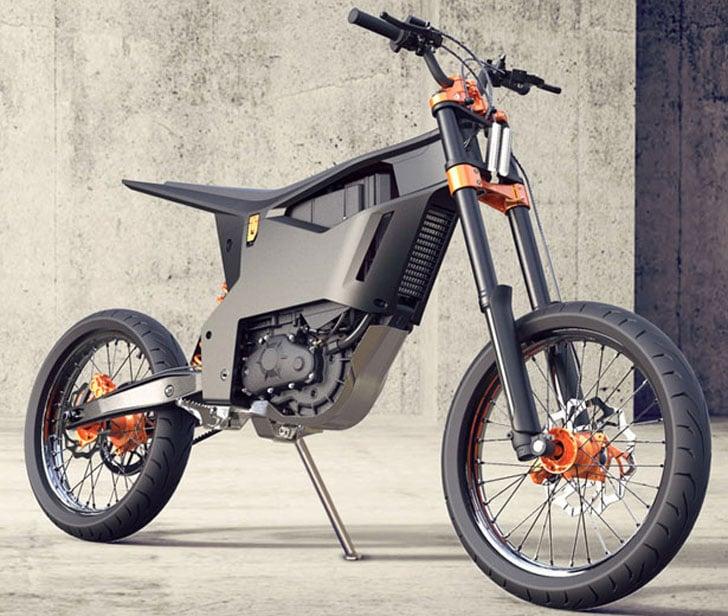 KTM Delta Electric MotorCycle