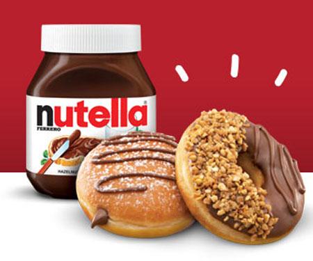 Krispie Kreme Nutella Donuts