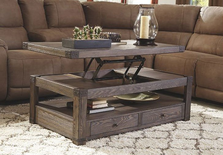 Loon Peak Lift-Top Coffee Table - lift-top coffee tables