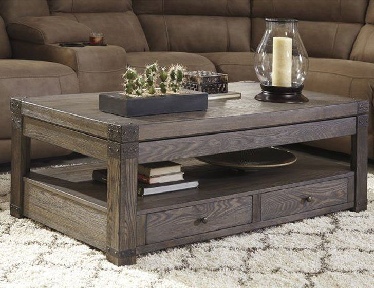 Loon Peak Lift-Top Coffee Table