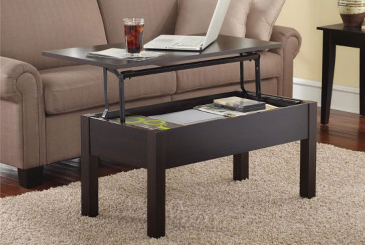 Mainstays Lift-Top Coffee Table - lift-top coffee tables