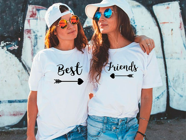 Matching Best Friend BFF T-Shirts