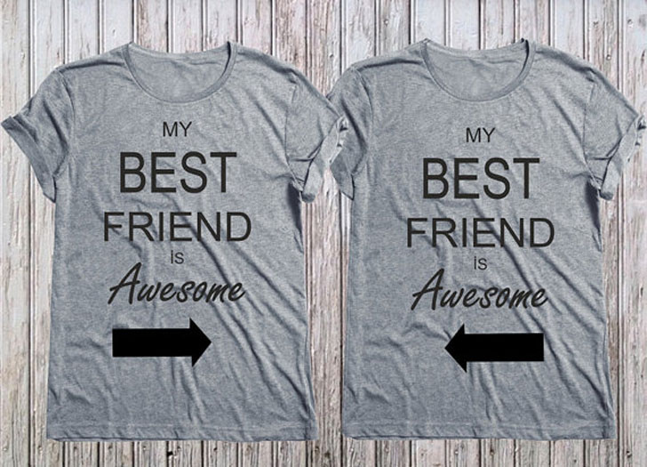 c3cd39e15 37 Greatest Matching Best Friend Shirts For 2! ( Friendship Shirts )