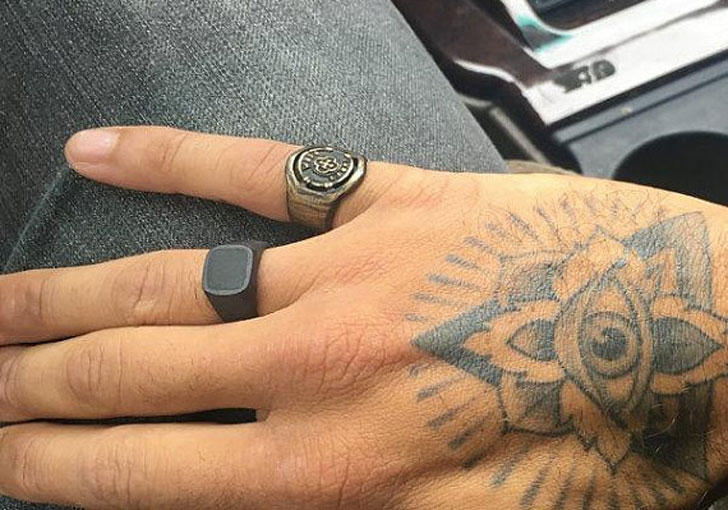 Men's Chevaliere Homme Black Signet Ring