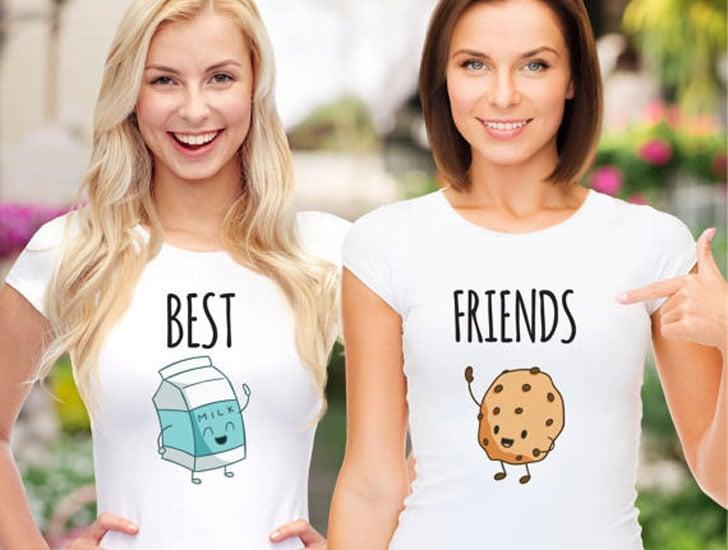 Milk & Cookies Best Friend Shirts