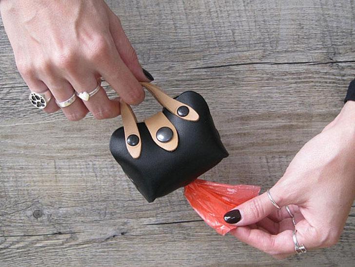 Mini Tote Dog Poop Bag Holder