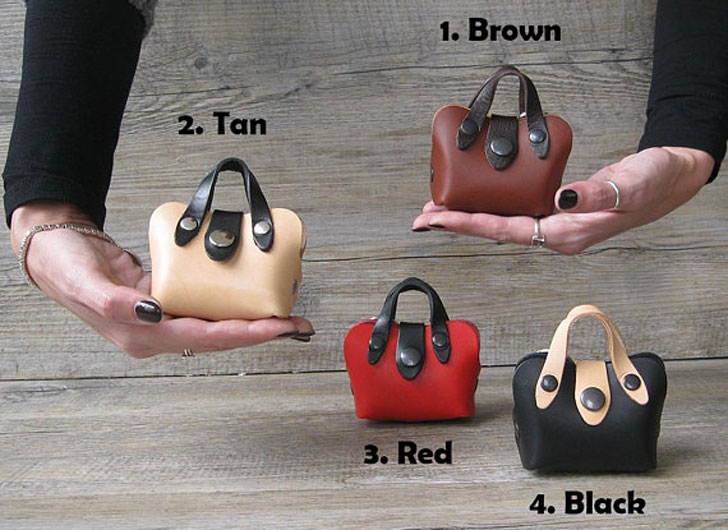 Mini Tote Dog Poop Bag Holder