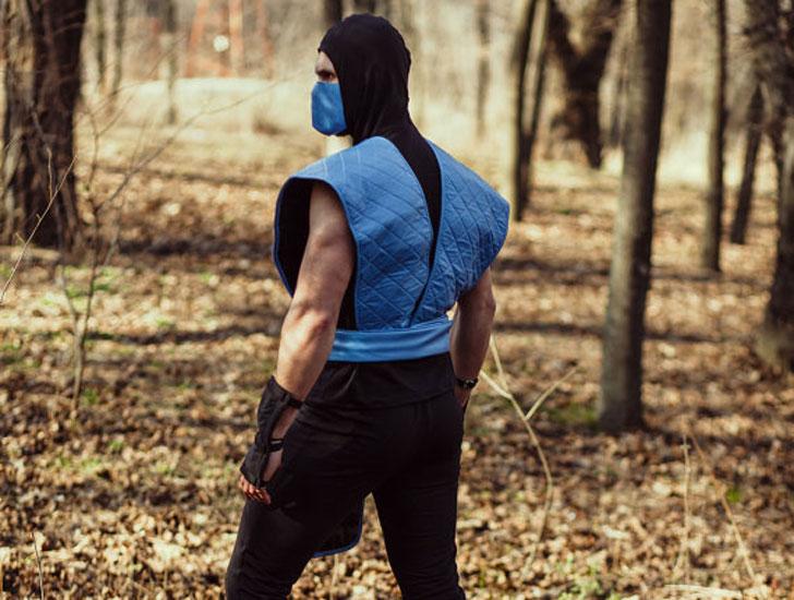 Mortal Combat Sub Zero Costume
