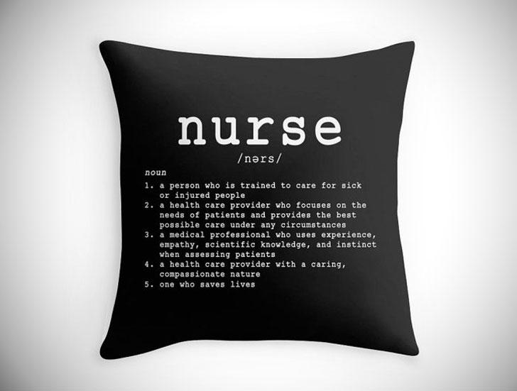 Nurse Definition Pillow