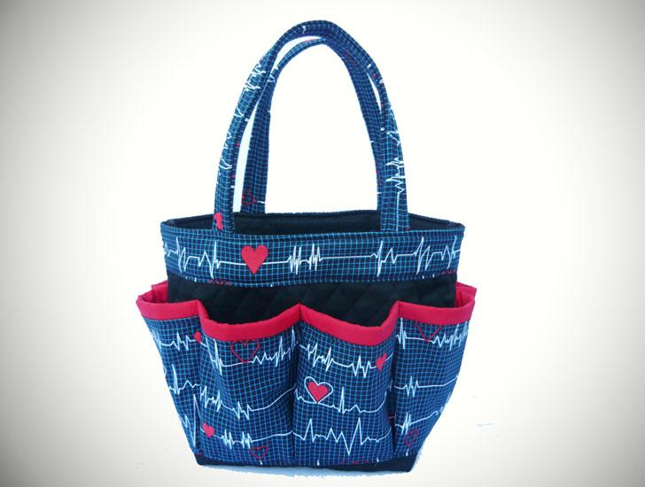 Nurse EKG Print Bag