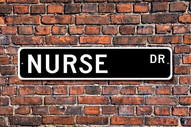 Nurse Street Sign