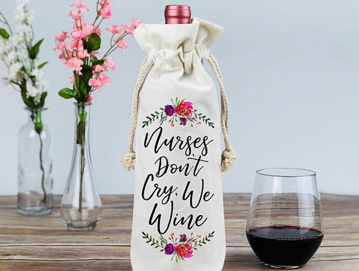 Nurses Don't Cry We Wine Gift