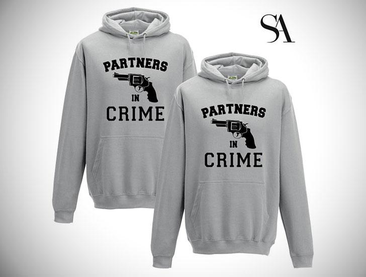 Partners in Crime Hoodie Set