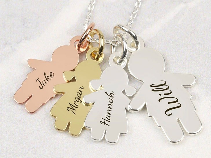 Personalised Family Necklace