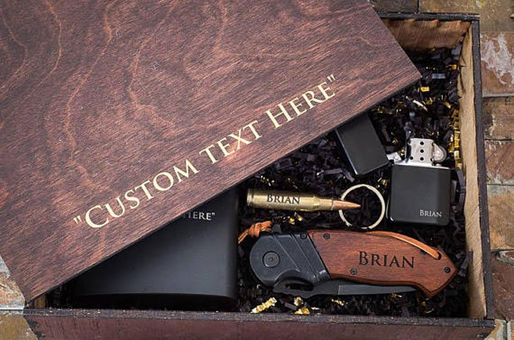 Personalised Gift Box - Sentimental Gift for Him
