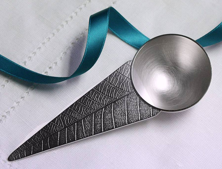 Personalised Solid Sterling Silver Coffee Scoop