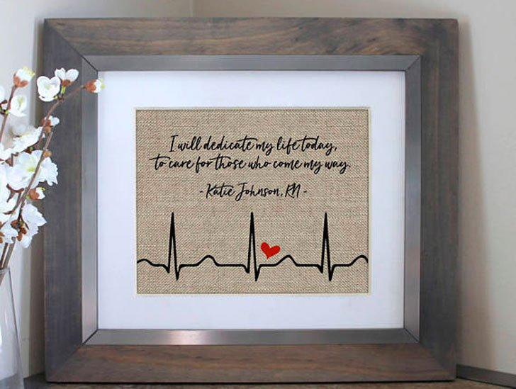Personalized Nursing Student or Graduation Gift