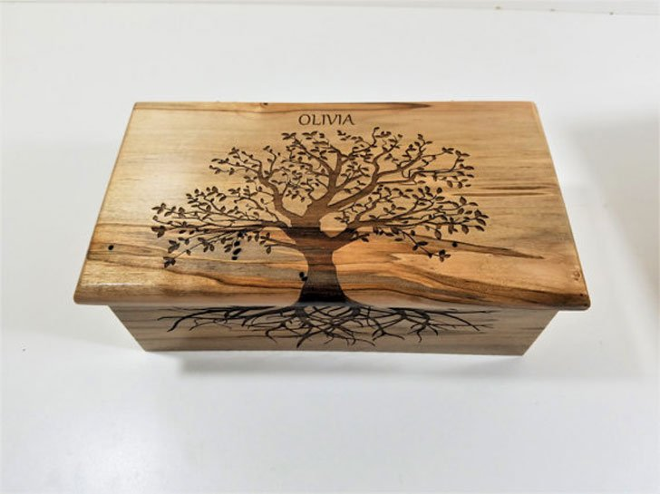 Personalized Tree Of Life Custom Music Box Sentimental Gifts For Best Friends