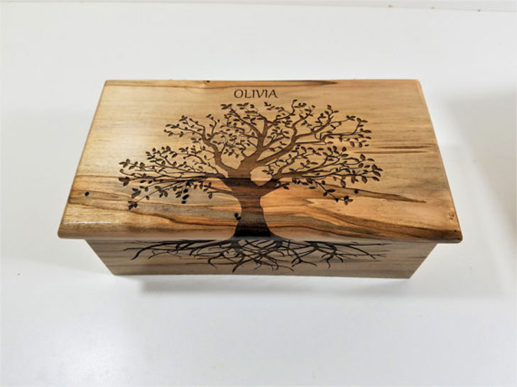 Personalized Tree of Life Custom Music Box - Sentimental Gifts For Best Friends