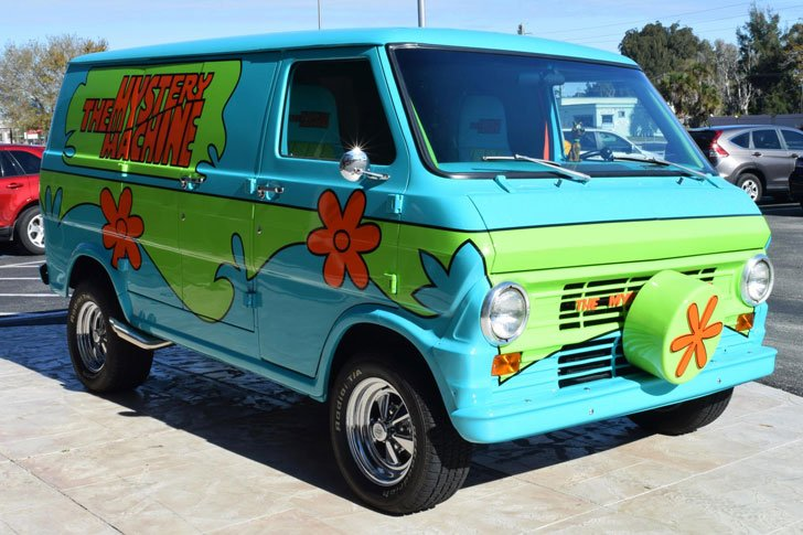 scooby doo mystery machine van awesome stuff 365. Black Bedroom Furniture Sets. Home Design Ideas