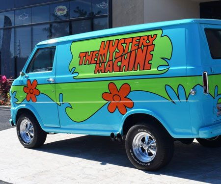 Scooby Doo Mystery Machine Van