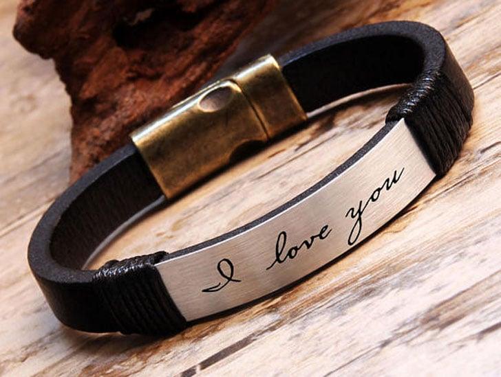 Sentimental Handwriting Keepsake Bracelet - Sentimental Gifts For Best Friends
